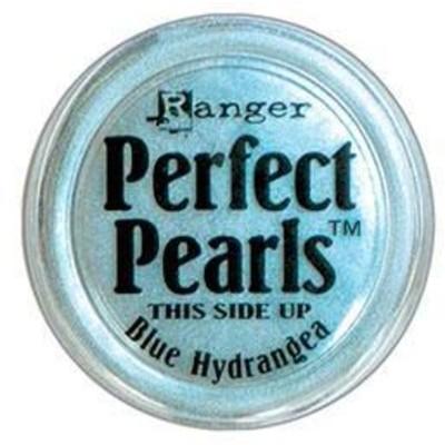 Perfect Pearls, Blue Hydrangea