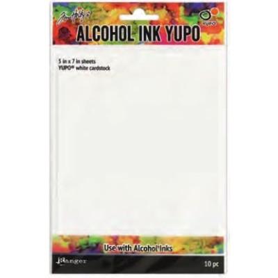 "Alcohol Ink Yupo Paper, White - 5x7"""