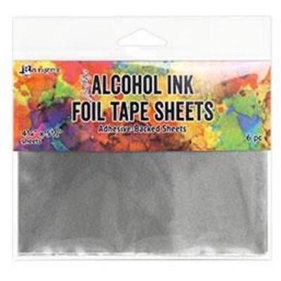 Tim Holtz Alcohol Ink Foil Tape Sheets 4.25 x 5.5 (6pcs)