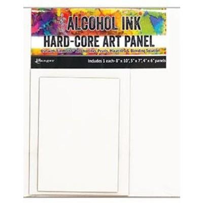 Tim Holtz Alcohol Ink Hard Core Art Panels, Rectangle (3 Pack)