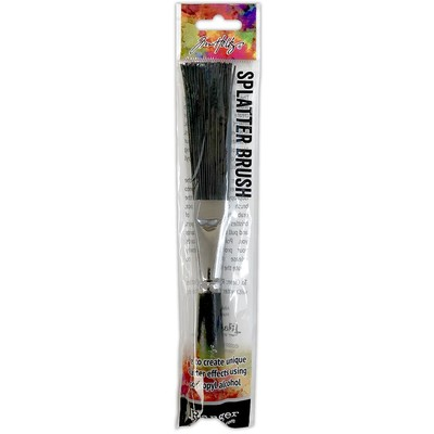 Alcohol Ink Splatter Brush