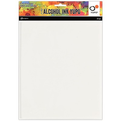 """Alcohol Ink Yupo Paper, 8x10"""" (25 Pack)"""