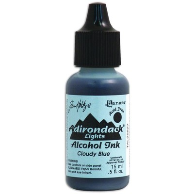 Tim Holtz Alcohol Ink, Cloudy Blue