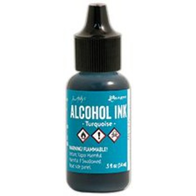Tim Holtz Alcohol Ink, Turquoise