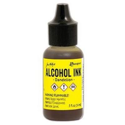 Tim Holtz Alcohol Ink, Dandelion