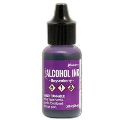 Tim Holtz Alcohol Ink, Boysenberry
