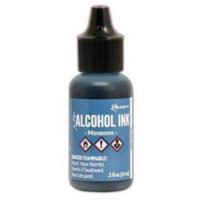 Tim Holtz Alcohol Ink, Monsoon
