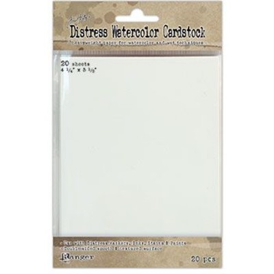 Distress Watercolor Cardstock 20pk