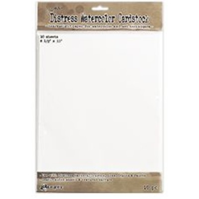 Distress Watercolor Cardstock, 8.5x11 (10Pk)