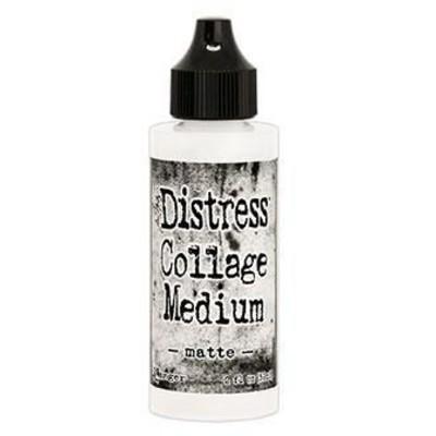 Distress Collage Medium, Matte (2oz Bottle)