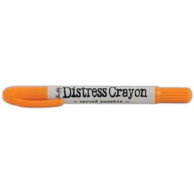 Distress Crayon, Carved Pumpkin
