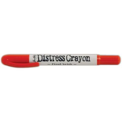 Distress Crayon, Fired Brick