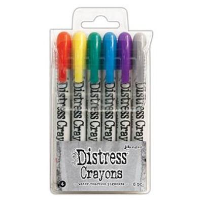 Distress Crayon Set #4