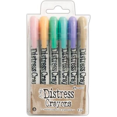 Distress Crayon Set #5