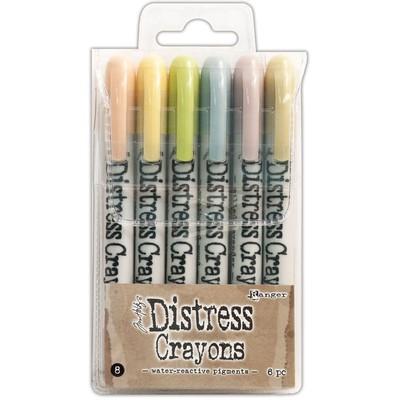 Distress Crayon Set #8