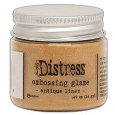 Distress Embossing Glaze, Antique Linen
