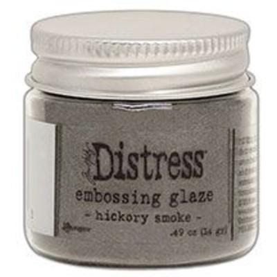 Distress Embossing Glaze, Hickory Smoke