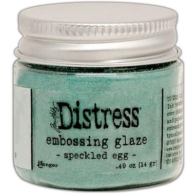 Distress Embossing Glaze, Speckled Egg