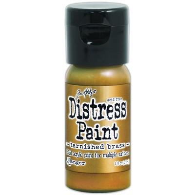 Distress Flip Top Paint, Tarnished Brass (1 oz.)
