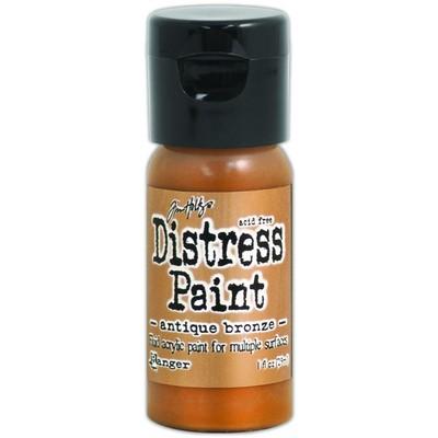 Distress Flip Top Paint, Antiqued Bronze (1 oz.)