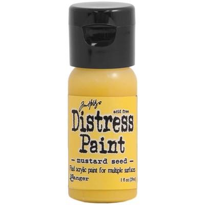 Distress Flip Top Paint, Mustard Seed (1 oz.)