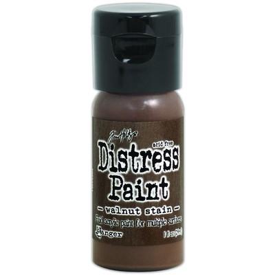 Distress Flip Top Paint, Walnut Stain (1 oz.)