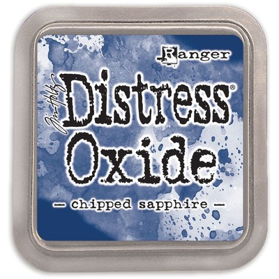 Distress Oxide Ink Pad, Chipped Sapphire