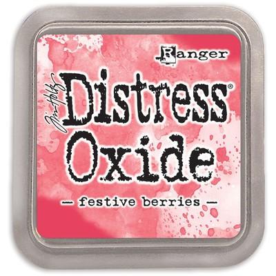 Distress Oxide Ink Pad, Festive Berries