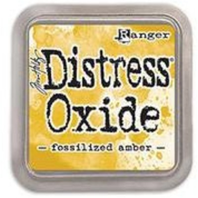 Distress Oxide Ink Pad, Fossilized Amber