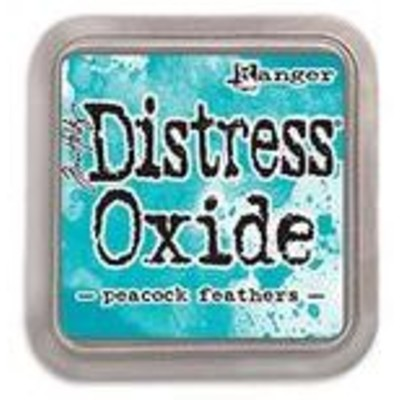Distress Oxide Ink Pad, Peacock Feathers