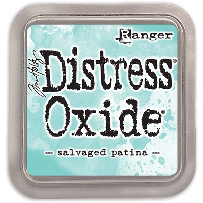 Distress Oxide Ink Pad, Salvaged Patina
