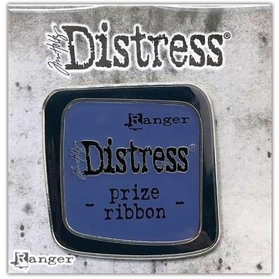 Distress Enamel Collector Pin, Prize Ribbon