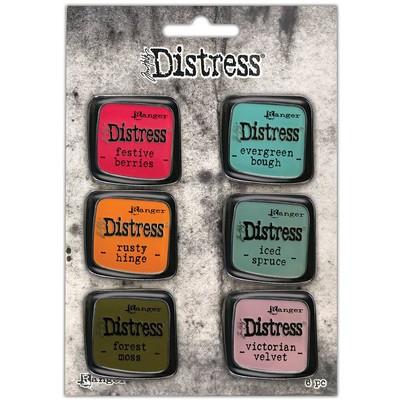 Distress Enamel Collector Pin Set, 09
