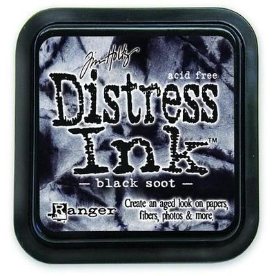 Distress Ink Pad, Black Soot