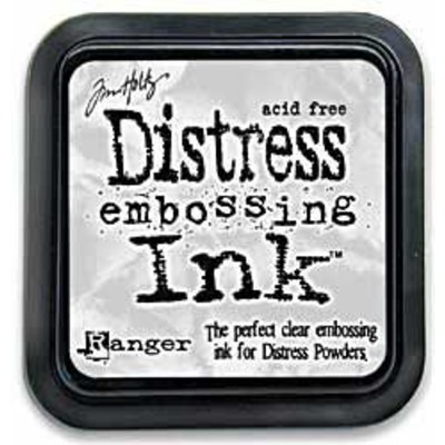 Distress Clear Embossing Ink