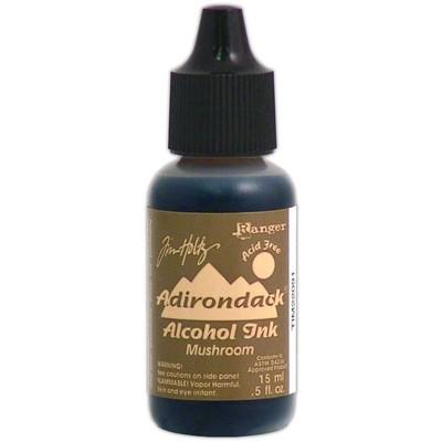 Tim Holtz Alcohol Ink, Mushroom