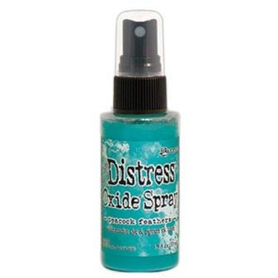 Distress Oxide Spray, Peacock Feathers