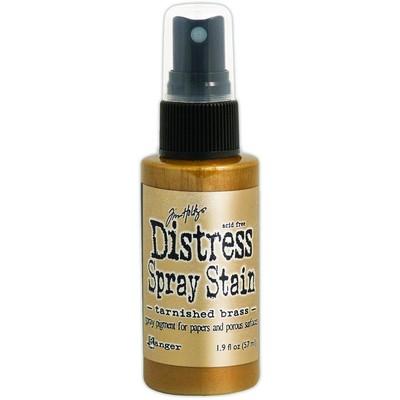 Distress Spray Stain, Tarnished Brass
