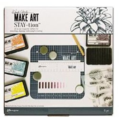"Make Art Stay-tion, 7"""