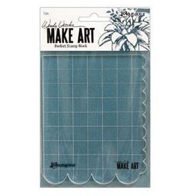 Make Art Perfect Stamp Block