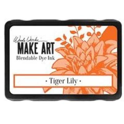 Make Art Blendable Dye Ink Pad, Tiger Lily