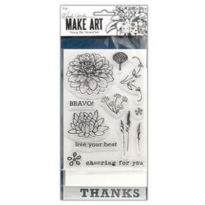 Make Art Stamp/Die/Stencil Set, Bravo