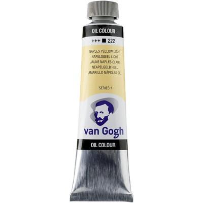 Van Gogh Oil Color Tube, 222 Naples Yellow Light (40ml)