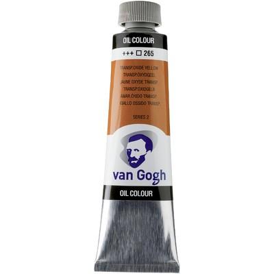 Van Gogh Oil Color Tube, 265 Transparent Oxide Yellow (40ml)