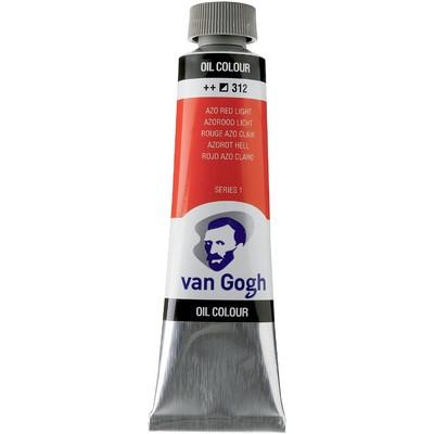 Van Gogh Oil Color Tube, 312 Azo Red Light (40ml)