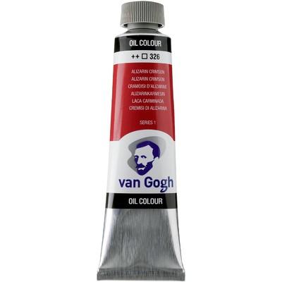 Van Gogh Oil Color Tube, 326 Alizarin Crimson (40ml)