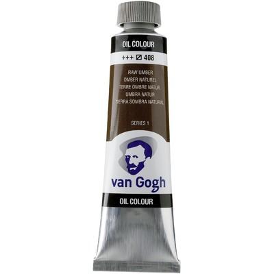 Van Gogh Oil Color Tube, 408 Raw Umber (40ml)