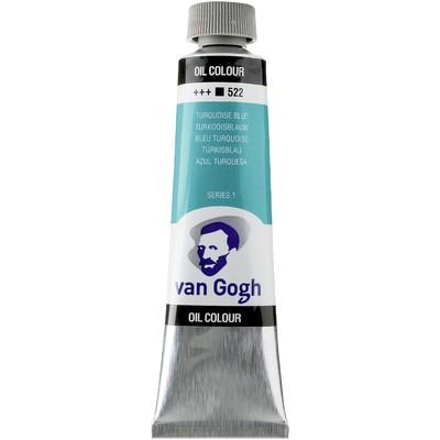 Van Gogh Oil Color Tube, 522 Turqioise Blue (40ml)
