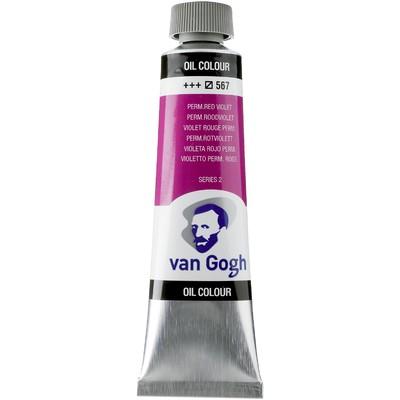 Van Gogh Oil Color Tube, 567 Permanent Red Violet (40ml)