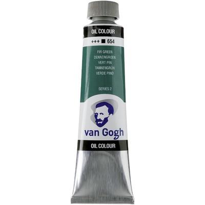 Van Gogh Oil Color Tube, 654 Fir Green (40ml)